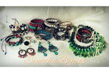Sinatha Bijoux / Peças artesanais e exclusivas.
