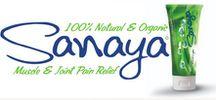 Sanaya Natural Pain Relief Cream