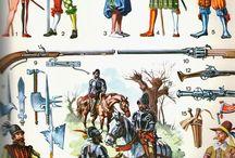 Nyugat-Európai katonaság 16-17. század