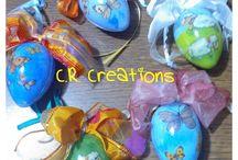 creazioni decoupage Pasqua