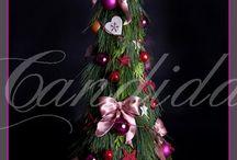 dekoracje świąteczne / dekoracje świąteczne przygotowane przez pracownię dekoracji Candida
