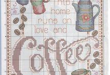 kávé tea csoki süti
