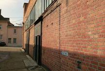 Industriegebäude , Industrialisierung; Lofts / Industriepark, Backsteingebäude