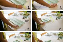 table settings&napkins