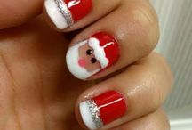 Christmas Nail Art / Here's some of our favourite festive nails to get you inspired!