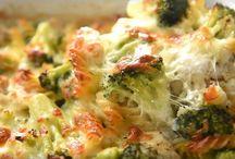 Casserole de poulet et brocoli