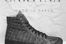 Cartina - Made in Recycled Paper / Luxury Recycled Paper Shoes