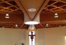 Sala Liturgica a Stezzano (BG) / sala liturgica in legno https://www.marlegno.it