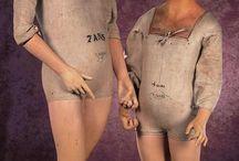strange mannequins