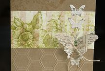Cards: Butterfly garden collectie