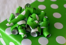 Color Combo: Green And White