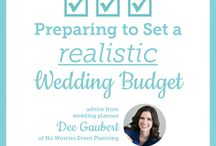 Beautiful + Budget Friendly Weddings / Wedding Budget Tips with a Sense of Style