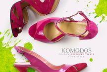 The World of Komodos / Our shoes are like hugs!