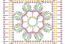 Granny, hexagon, squares.......y otros