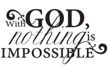 Encouragement  / Scripture, encouragement, bible, think, positive, God,  / by Lupe Binoeder