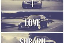 Subaru and rally