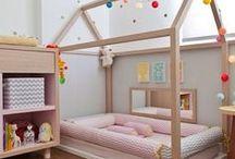 Quarto Montessoriano / Veja ideias de decoração que seguem os princípios dos quartos montessorianos!