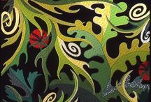 Jane Sassaman World / Jane Sassaman fabric and the world it lives in.