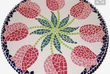pasta de mosaico