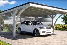 Photovoltaic garage
