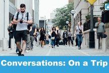 Angol párbeszédek - Utazás