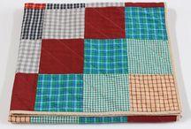 Baby Shower Gift Ideas / Nursery Decor: Handmade Baby Quilts, Pillows