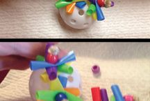 DIY bird toys