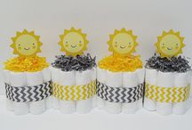 Baby Shower - You are my Sunshine