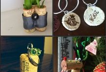 Wine Cork Crafts / Eight Repurposing Wine Cork Crafts / by Jen D. {Top Ate on Your Plate}