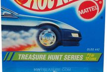 Angličáci Hot wheels S - Treasure Hunt