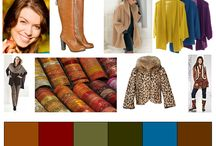 Wardrobe Ideas with summer-/ winter- colours