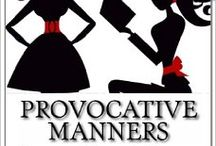 Christmas GIFT GUIDE: Provocative Manners / Fun and Necessary Gifts for the Holidays!