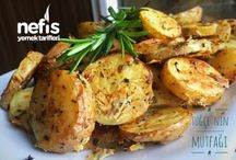 Patates fırında
