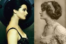 Lily Elsie and Rachel Weisz / Back to the Future!