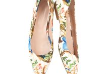 Kachorovska summer '15 / summer shoes 2015 floral prints Kachorovska