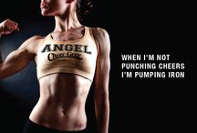 Angel Cheerleading gear / Cheerleading training gear