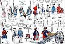 7 Years War - Uniforms & Flags