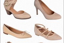 Neutrals / Looking for a beige or a nude shoe - look no further!  Whether for work or play, these neutral styles will compliment any outfit.