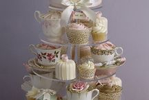 Teaparty / tea cups, afternoon tea style