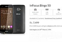 InFocus Bingo 50 Launched at Rs. 7499 with 3GB RAM & More Features