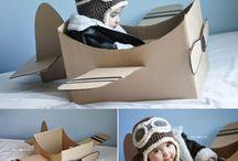 Jouet bebe carton