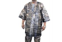 African clothing for men / Men's African print clothes