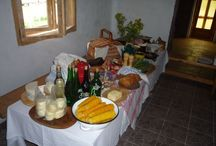 Jedlo v Alpinke / Vyzdoba tanierov v Alpinke