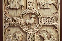 Symbols St John and evangelists