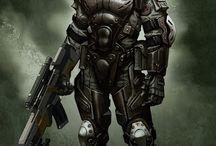 Sci-fi / Cyberpunk Armor