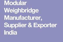 Modular Weighbridge Manufacturer, Supplier & Exporter India