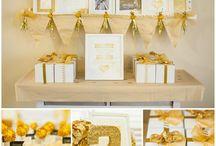 Golden Birthday Parties
