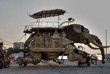 Burning Man Stages & Vehicles
