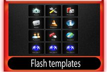 Flash components / Stock flash components, flash templates, flash banners, flash text effects