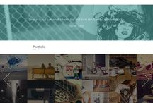 webdesign inspiration / Beautifull webdesigns from around the world